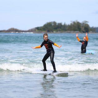 Kids Surfing Tofino BC