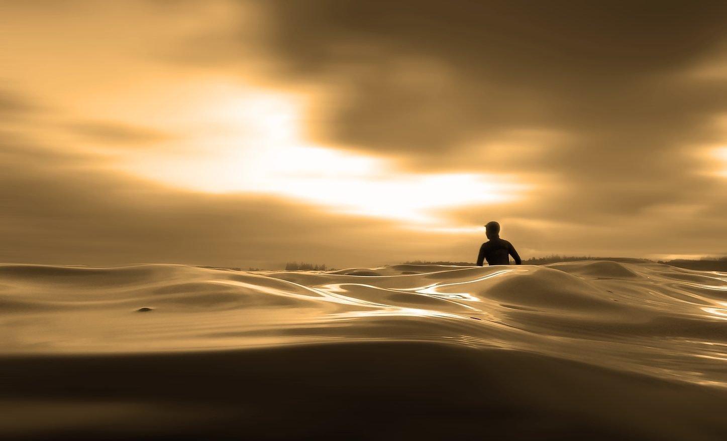 Surfing Tofino BC