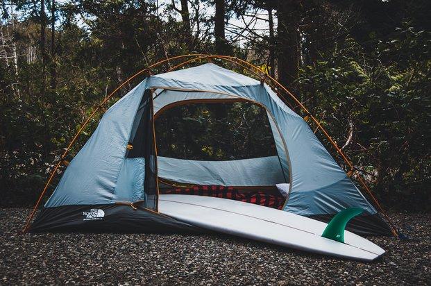 Tofino Tent Camping
