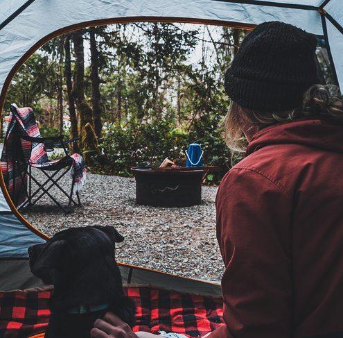 Surf Grove Campground Tofino BC